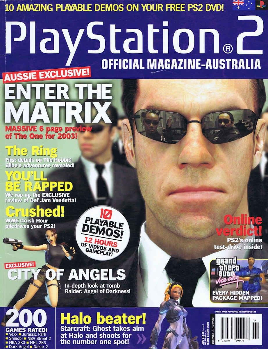 Playstation 2 Official Magazine (AUS) Issue 14 (May 2003)