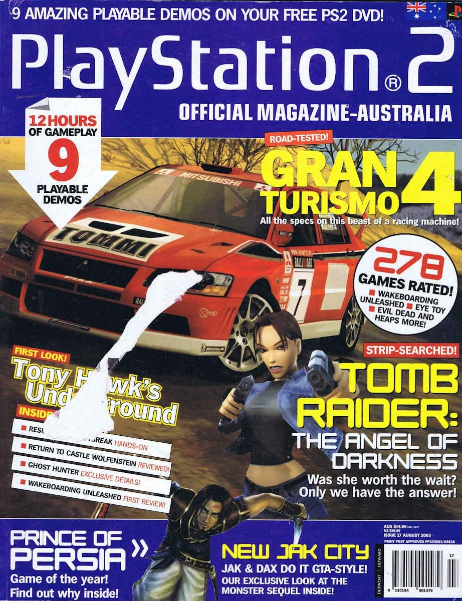 Playstation 2 Official Magazine (AUS) Issue 17 (August 2003)