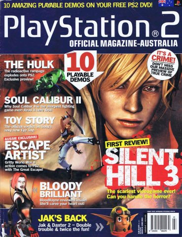Playstation 2 Official Magazine (AUS) Issue 15 (June 2003)