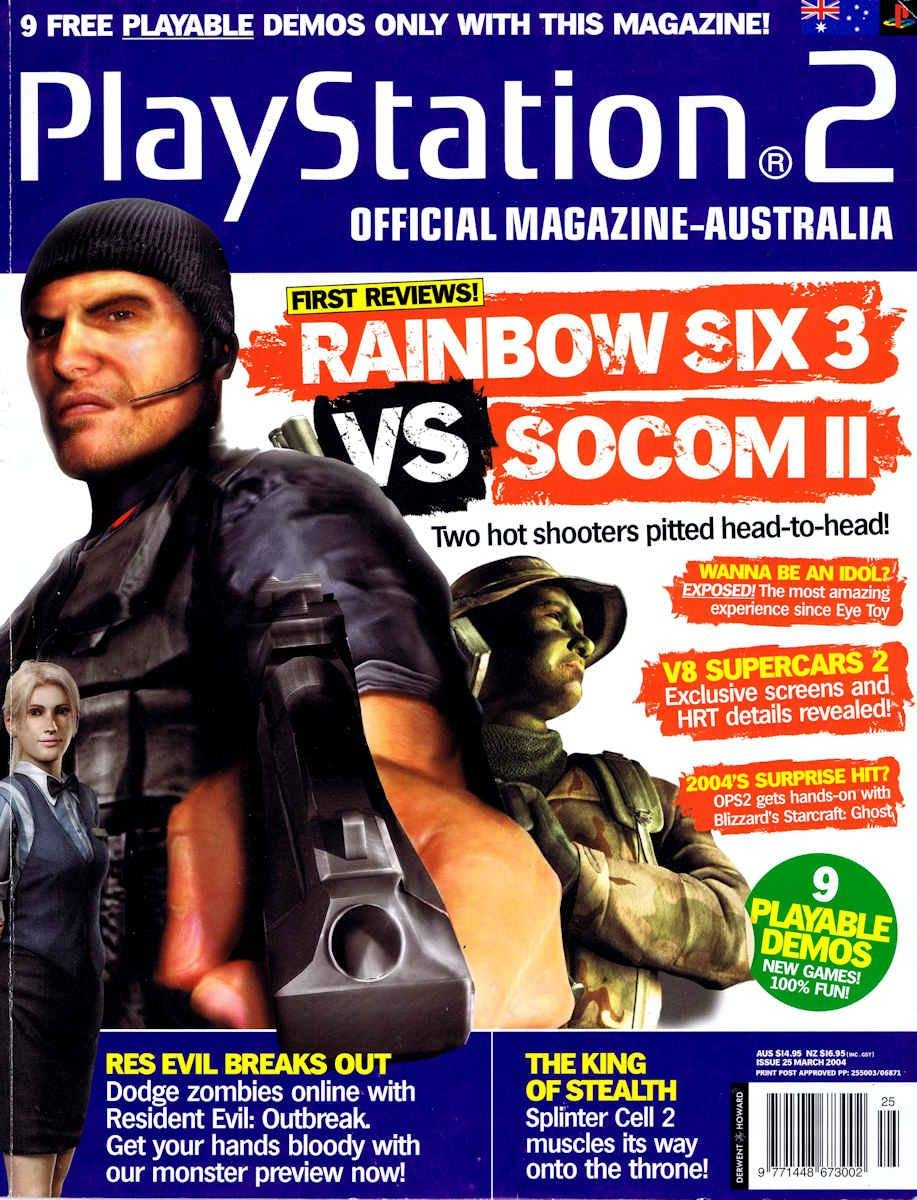 Playstation 2 Official Magazine (AUS) Issue 25 (March 2004)
