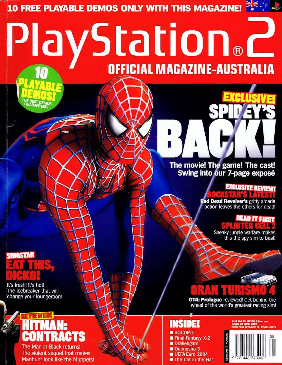 Playstation 2 Official Magazine (AUS) Issue 28 (June 2004)