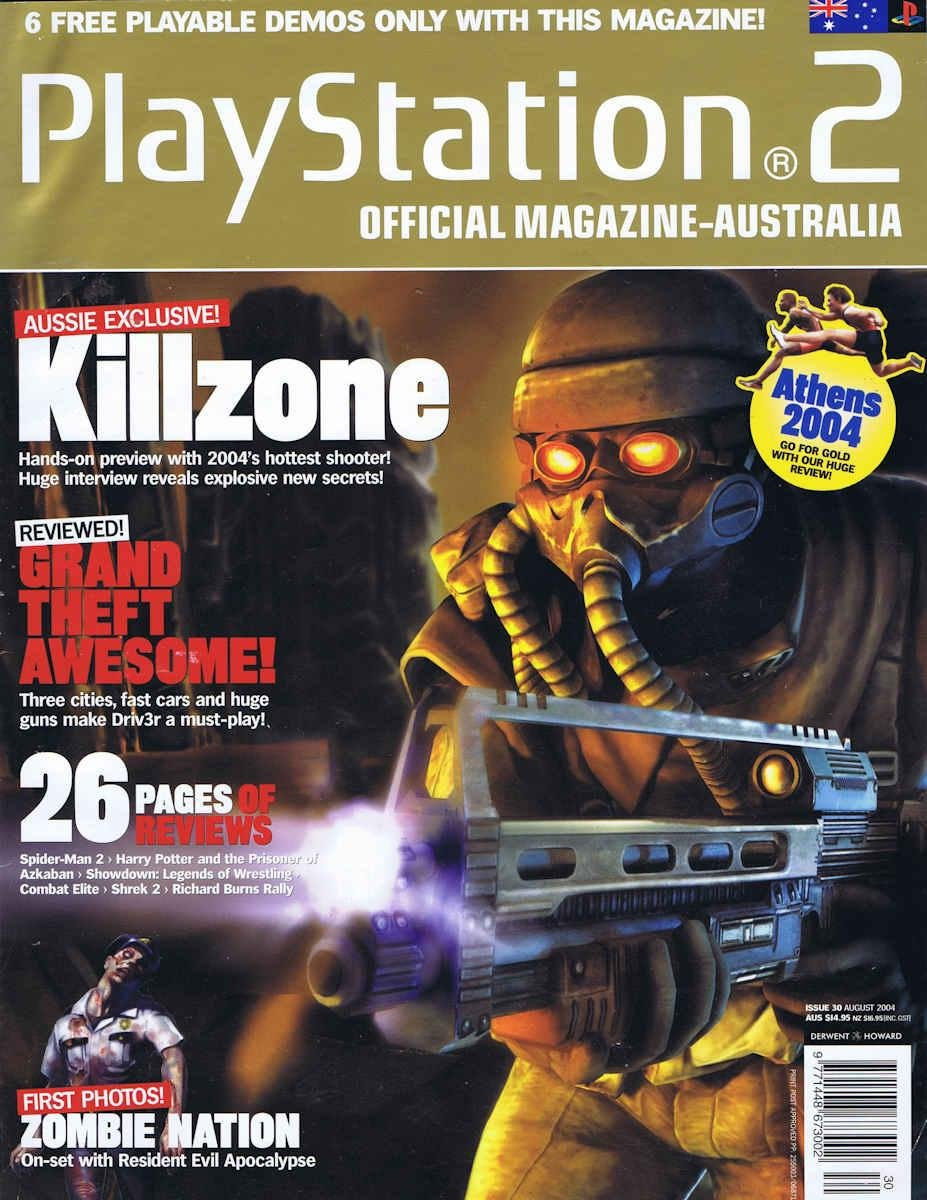 Playstation 2 Official Magazine (AUS) Issue 30 (August 2004)