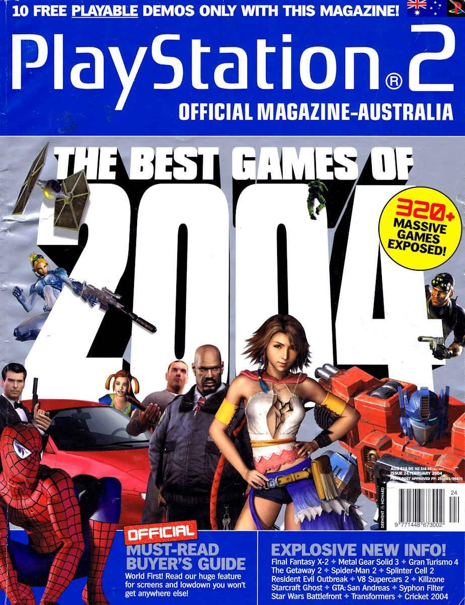 Playstation 2 Official Magazine (AUS) Issue 24 (February 2004)