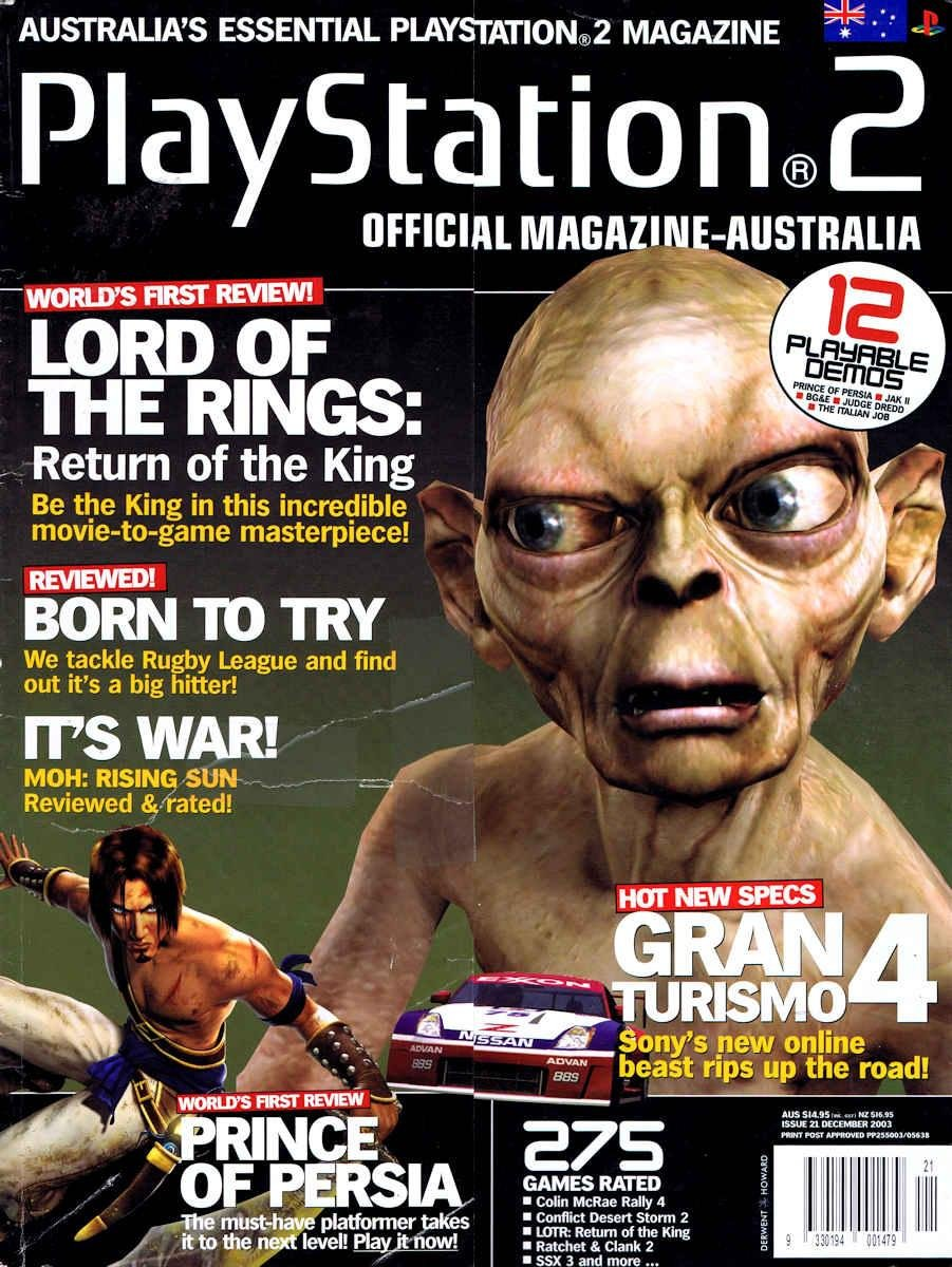 Playstation 2 Official Magazine (AUS) Issue 21 (December 2003)