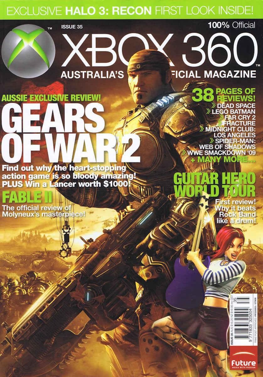 Official XBox 360 Magazine (AUS) Issue 35