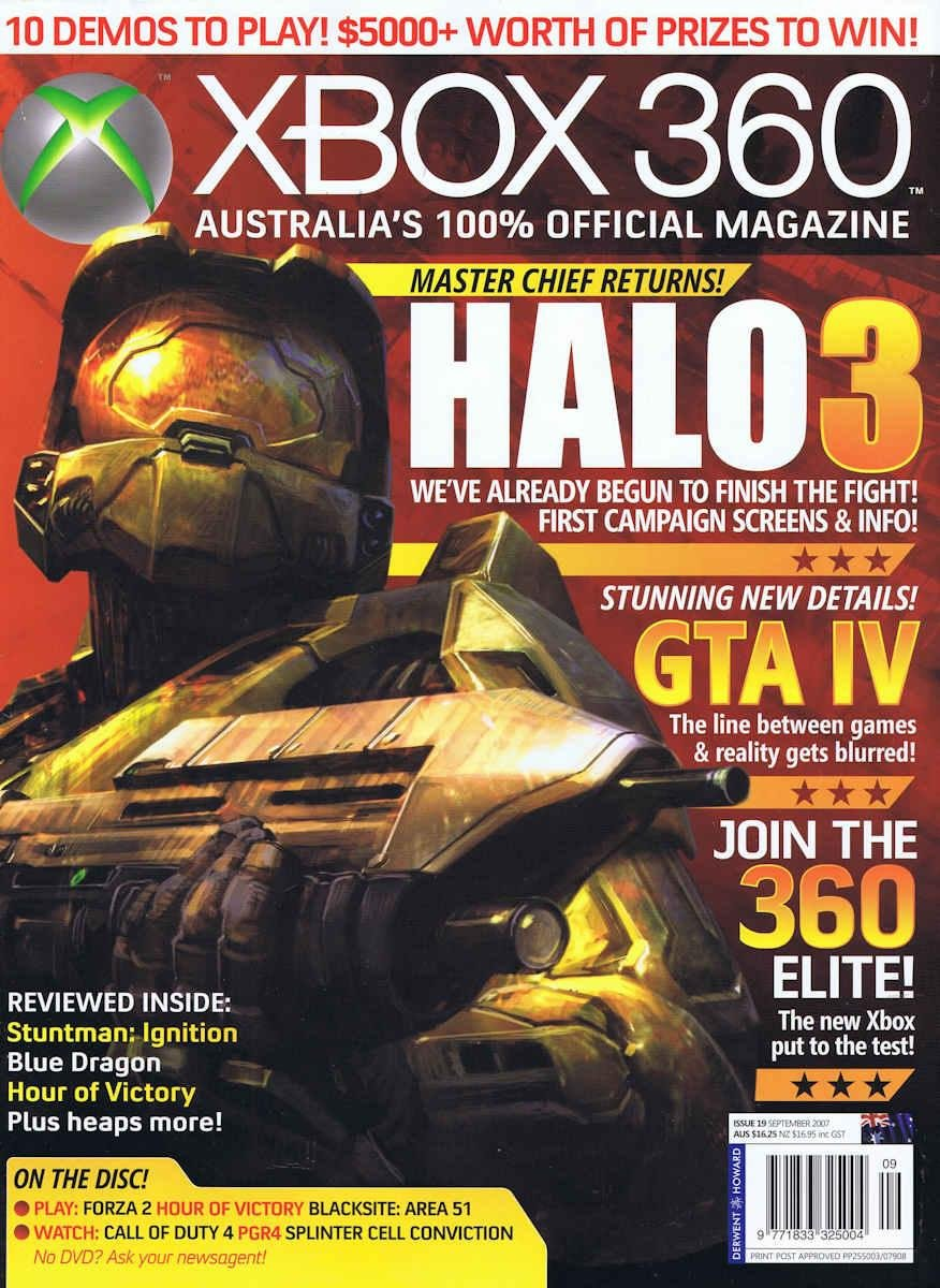 Official XBox 360 Magazine (AUS) Issue 19 (September 2007)