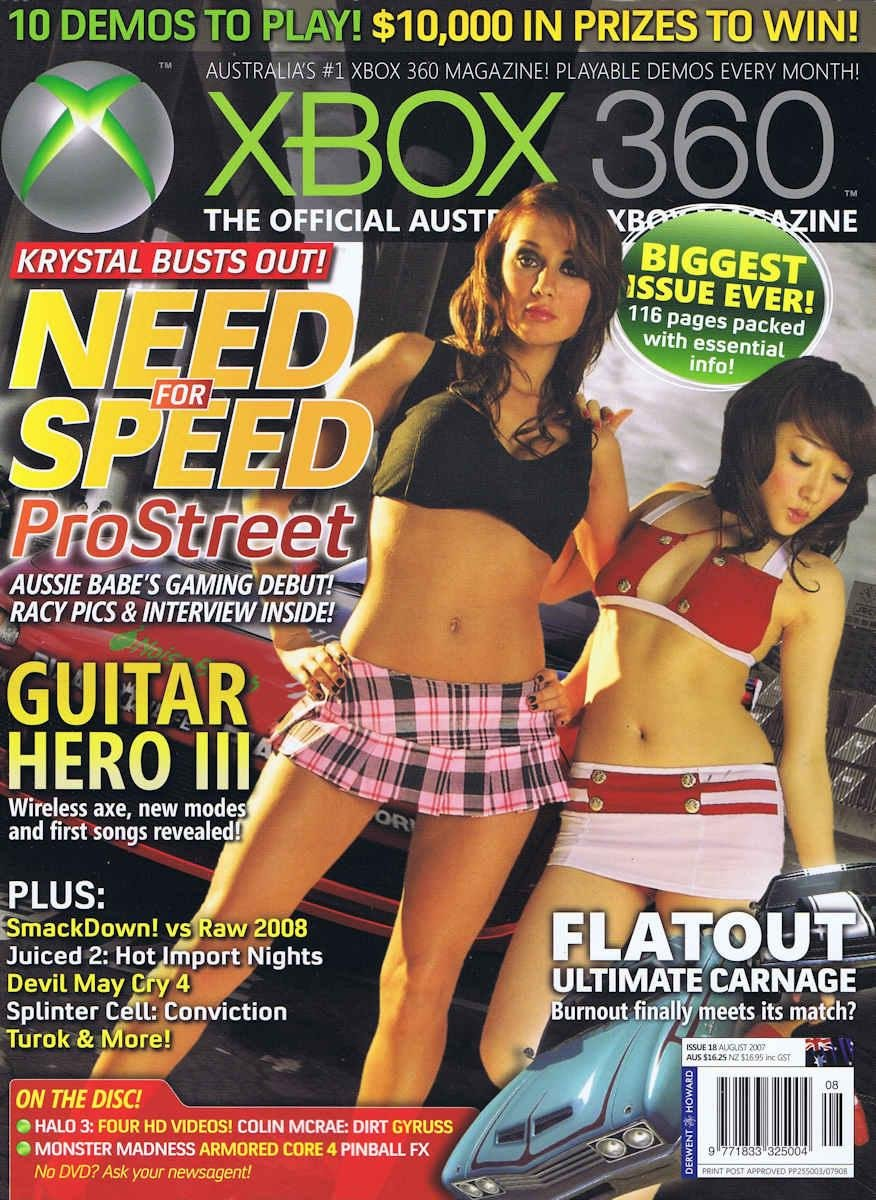 Official XBox 360 Magazine (AUS) Issue 18 (August 2007)