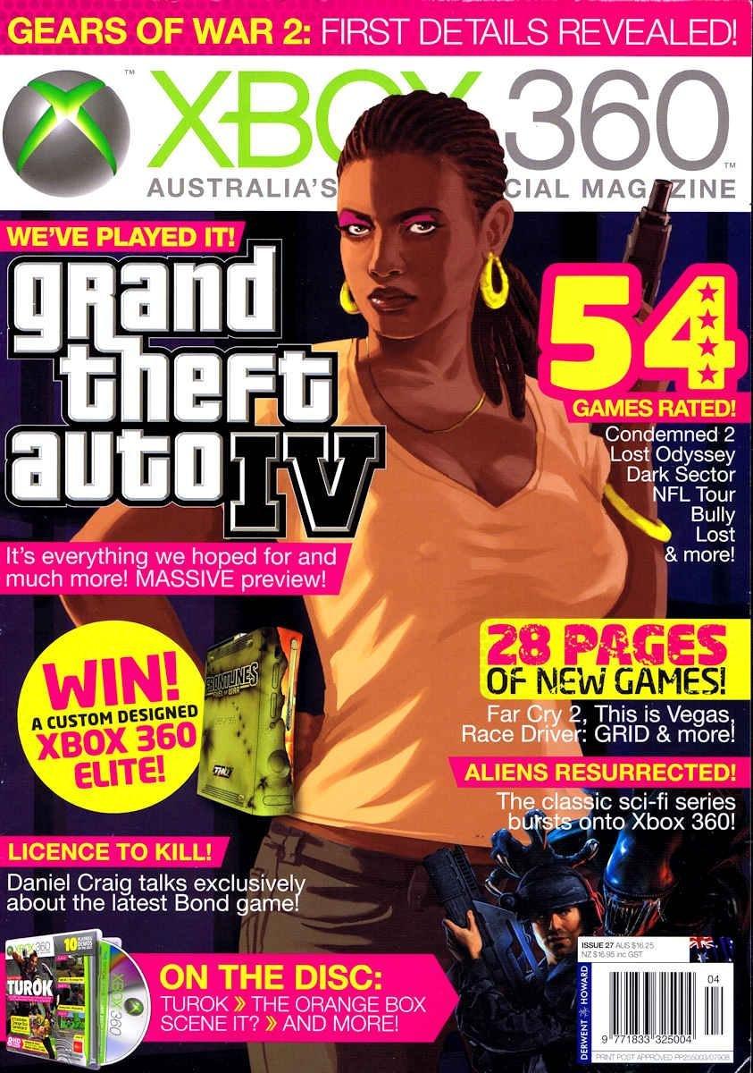Official XBox 360 Magazine (AUS) Issue 27 (April 2008)