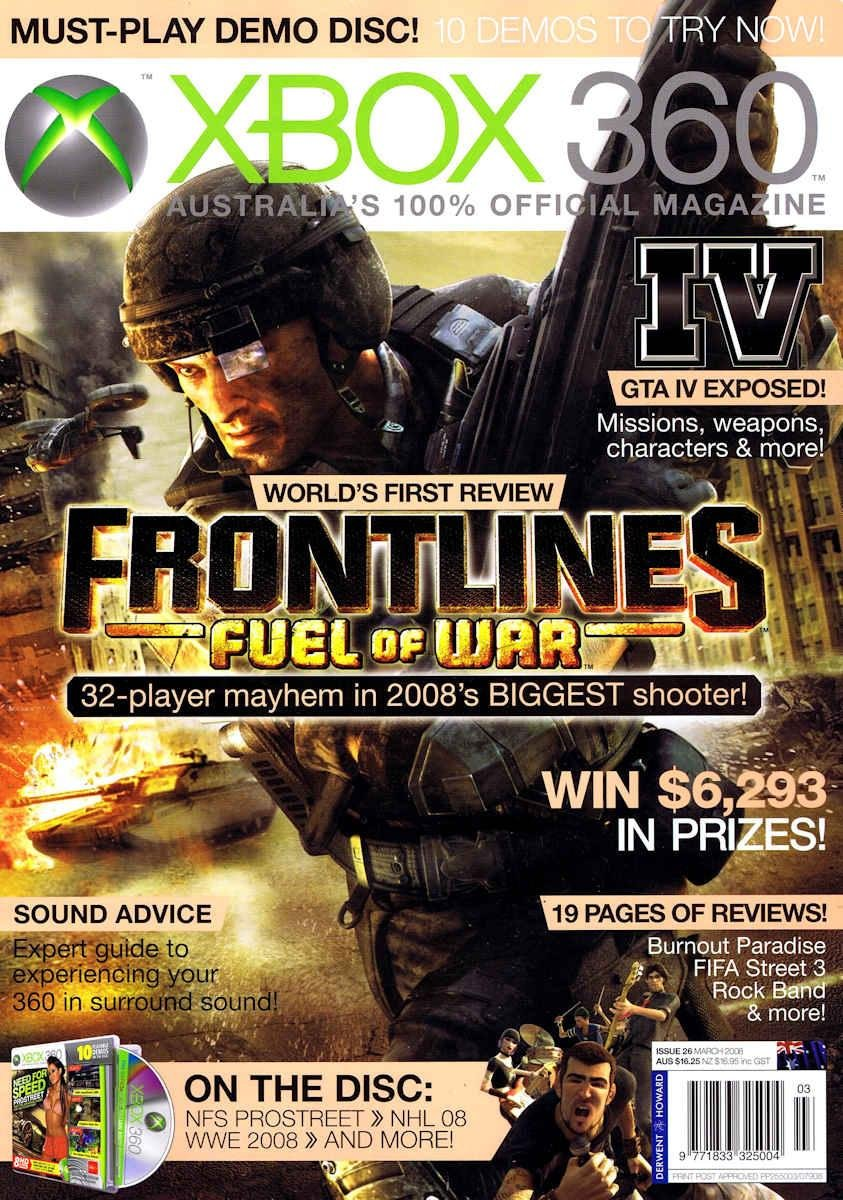 Official XBox 360 Magazine (AUS) Issue 26 (March 2008)