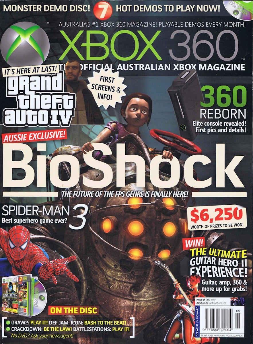 Official XBox 360 Magazine (AUS) Issue 15 (May 2007)