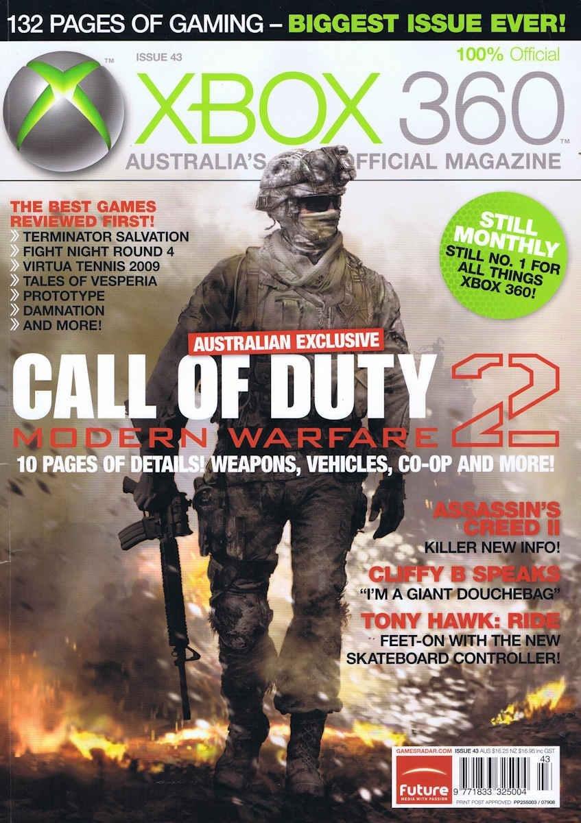 Official XBox 360 Magazine (AUS) Issue 43