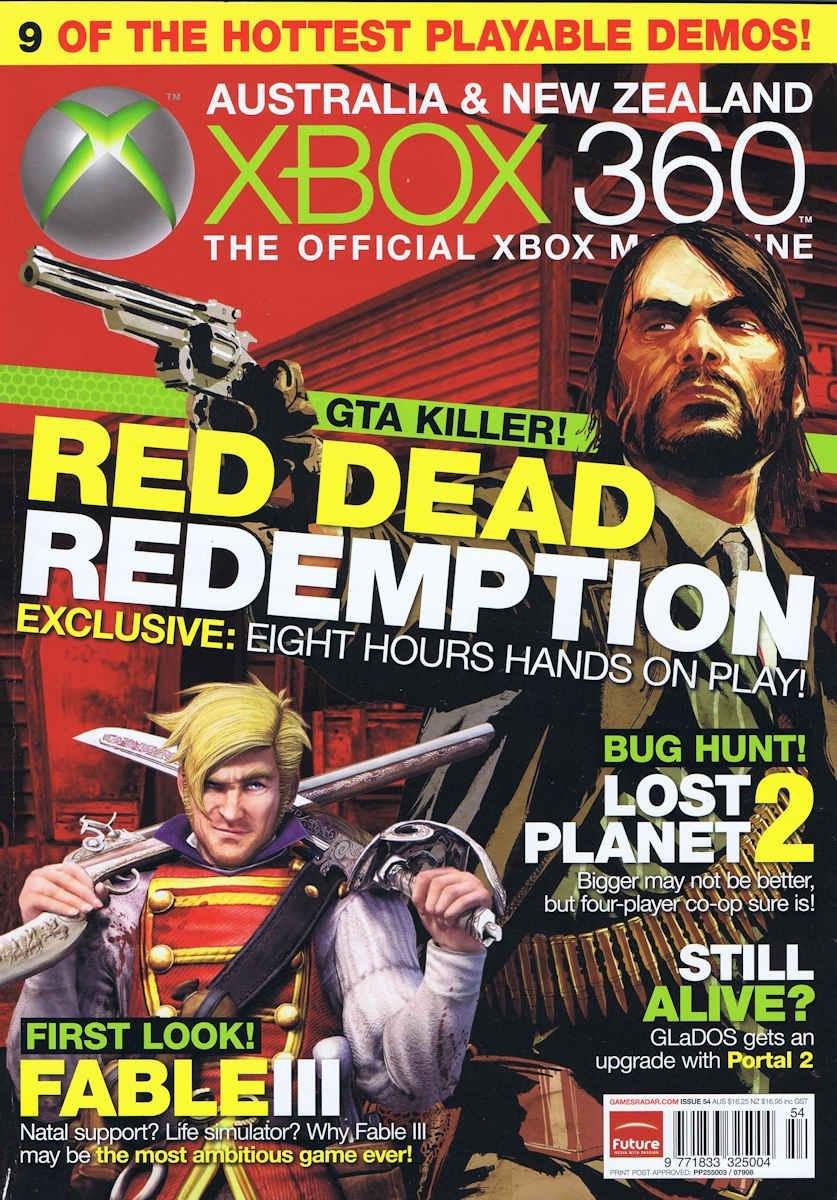 Official XBox 360 Magazine (AUS) Issue 54