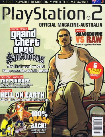 Playstation 2 Official Magazine (AUS) Issue 33 (November 2004)
