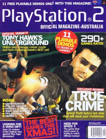 Playstation 2 Official Magazine (AUS) Issue 22 (Xmas 2003)