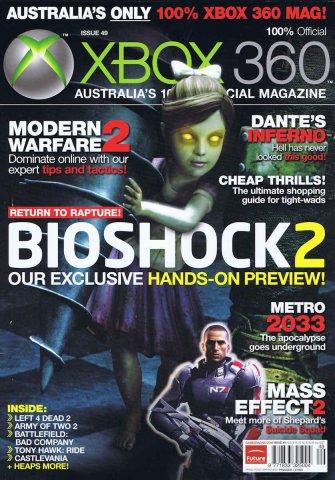 Official XBox 360 Magazine (AUS) Issue 49