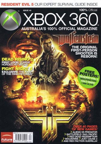 Official XBox 360 Magazine (AUS) Issue 40