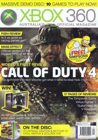 Official XBox 360 Magazine (AUS) Issue 22 (December 2007)