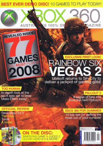 Official XBox 360 Magazine (AUS) Issue 25 (February 2008)