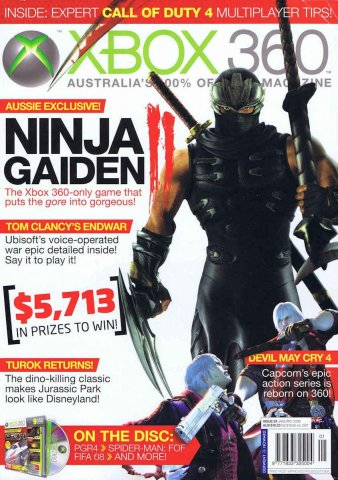 Official XBox 360 Magazine (AUS) Issue 24 (January 2008)