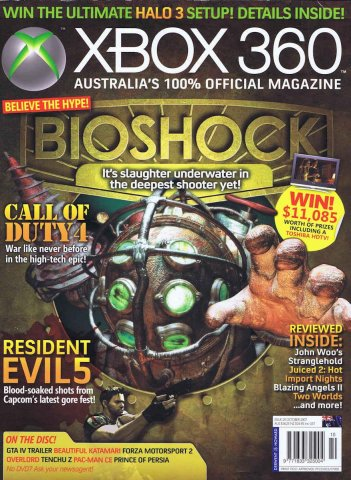 Official XBox 360 Magazine (AUS) Issue 20 (October 2007)