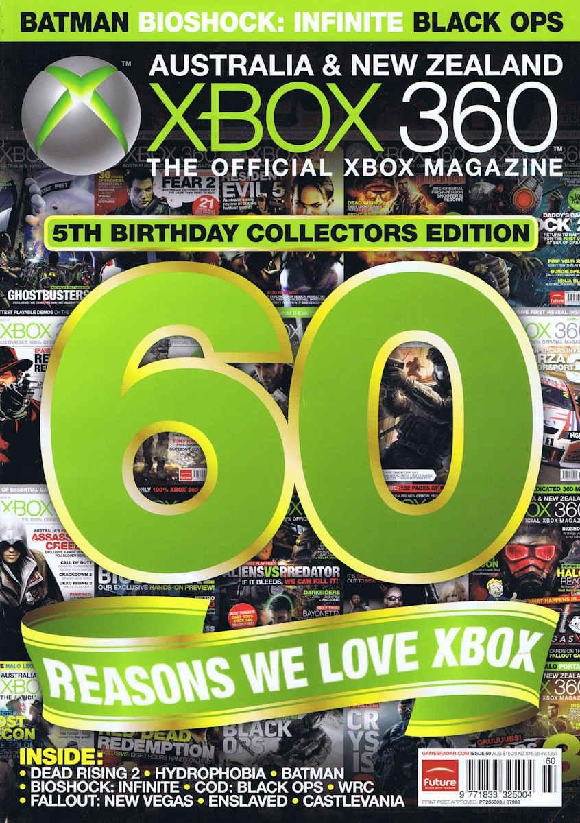Official XBox 360 Magazine (AUS) Issue 60