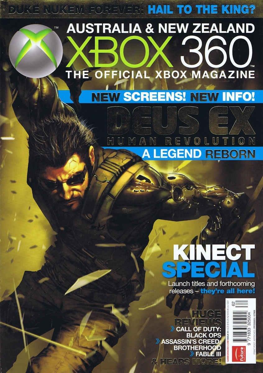 Official XBox 360 Magazine (AUS) Issue 62