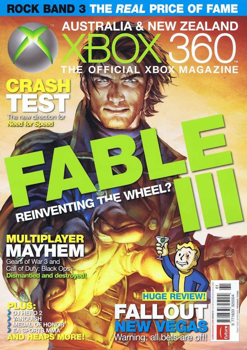 Official XBox 360 Magazine (AUS) Issue 61