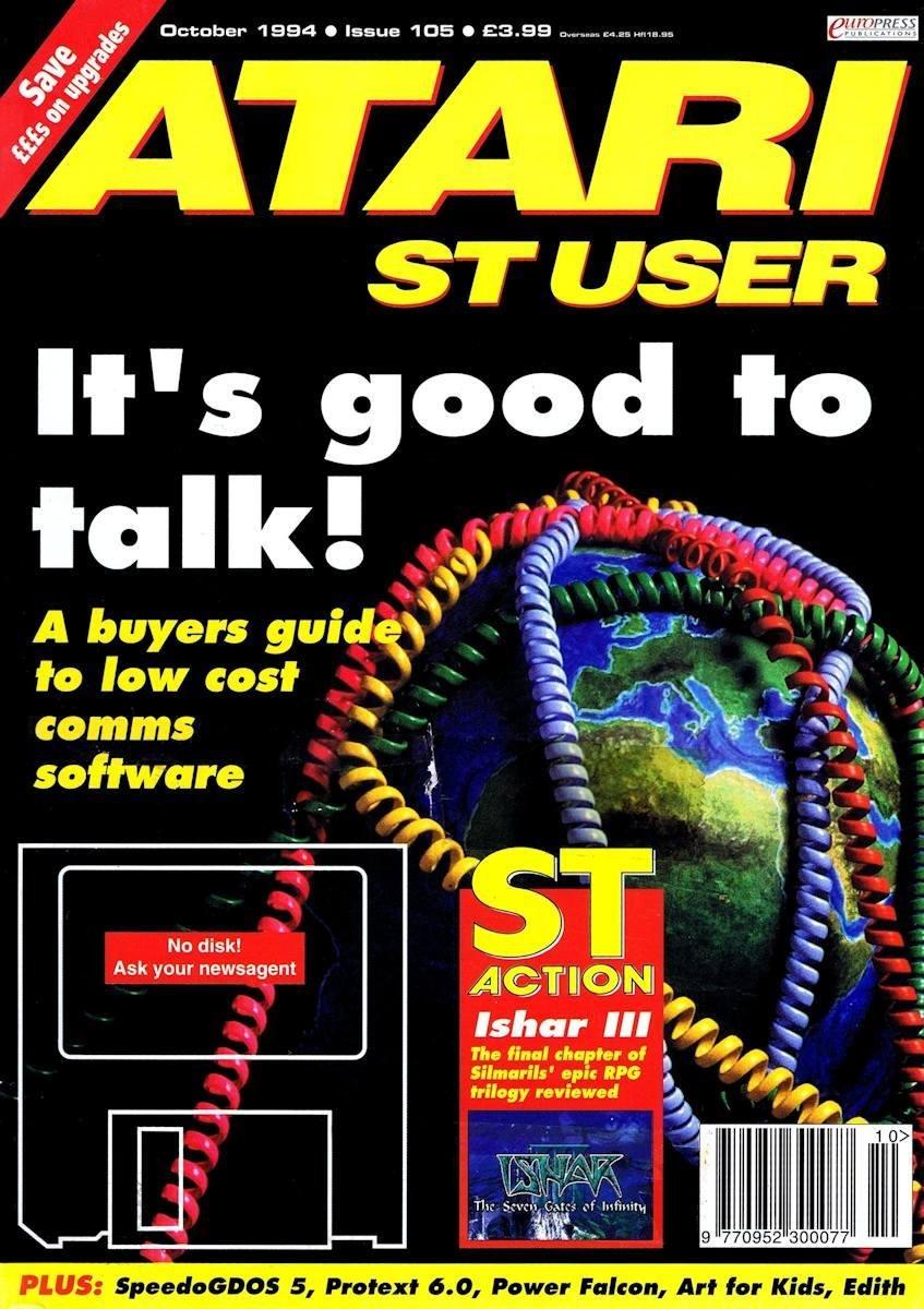 Atari ST User Issue 105 (October 1994)