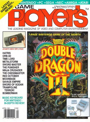 Game Player's Issue 022 April 1991