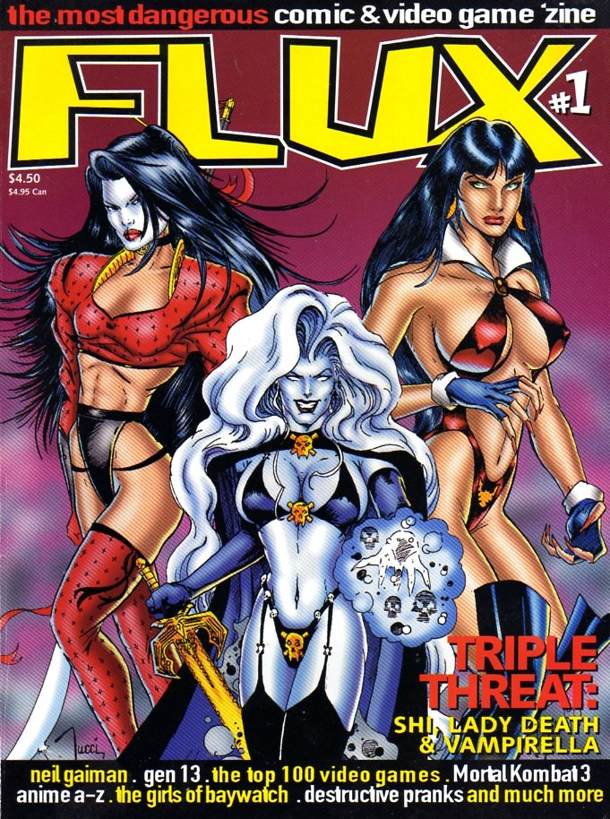 Flux Issue 04 (April 1995) *Alternate cover*