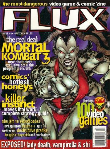 Flux Issue 04 (April 1995) (newsstand variant)