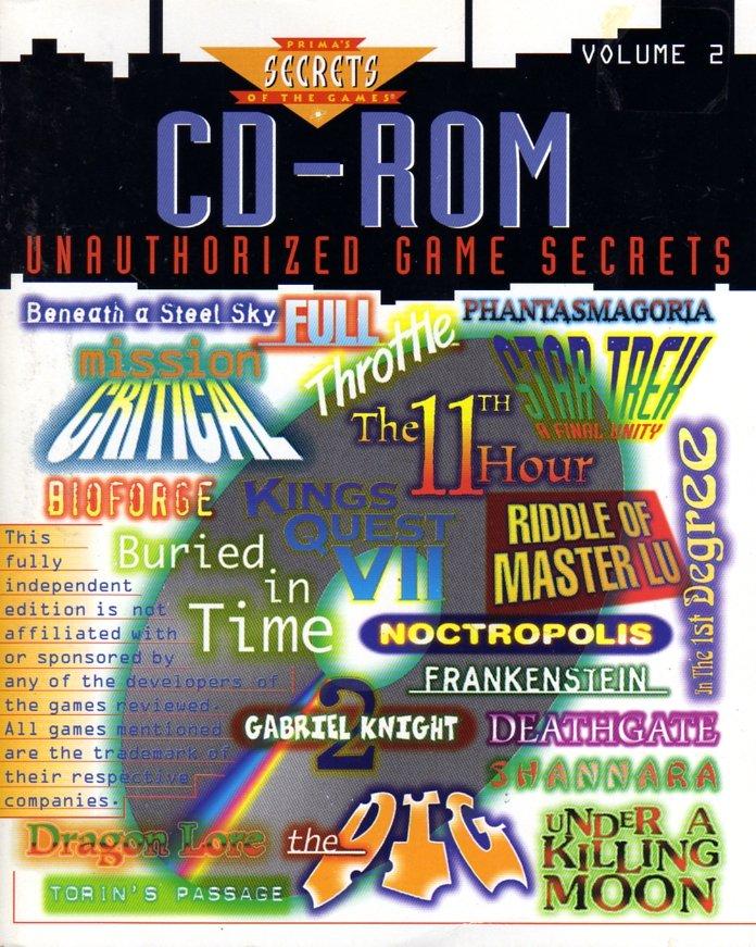 CD-ROM Unauthorized Game Secrets, Volume 2