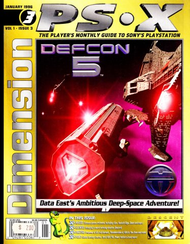 Dimension PSX Issue 3 (January 1996)