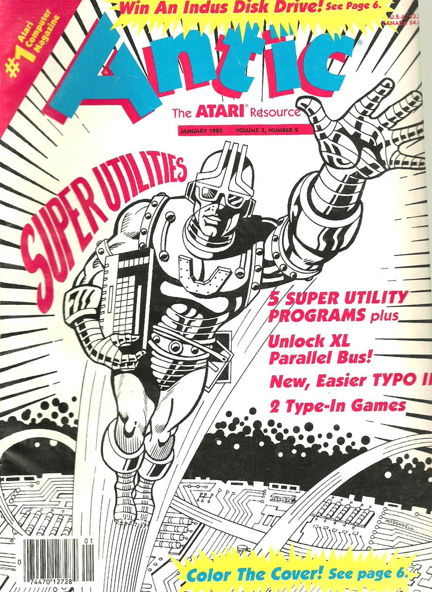Antic Issue 027 January 1985