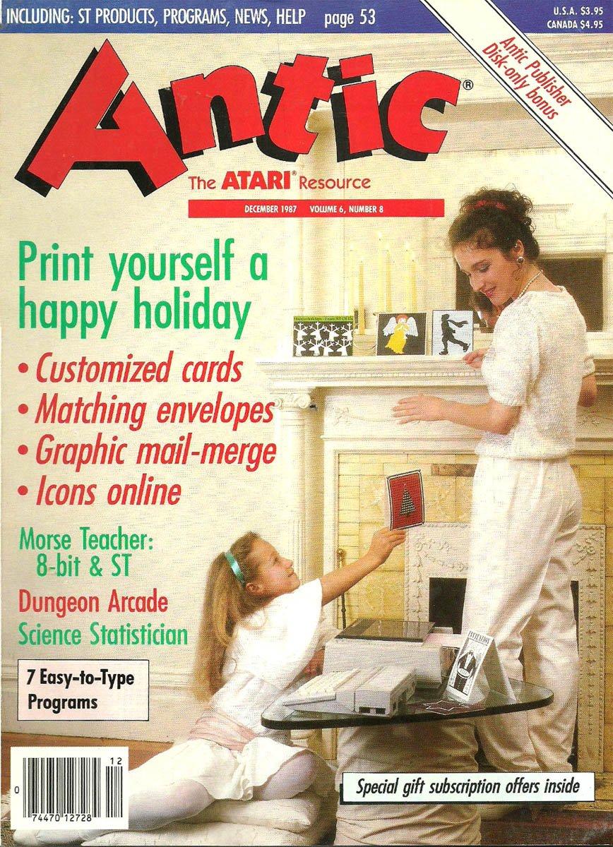 Antic Issue 062 December 1987