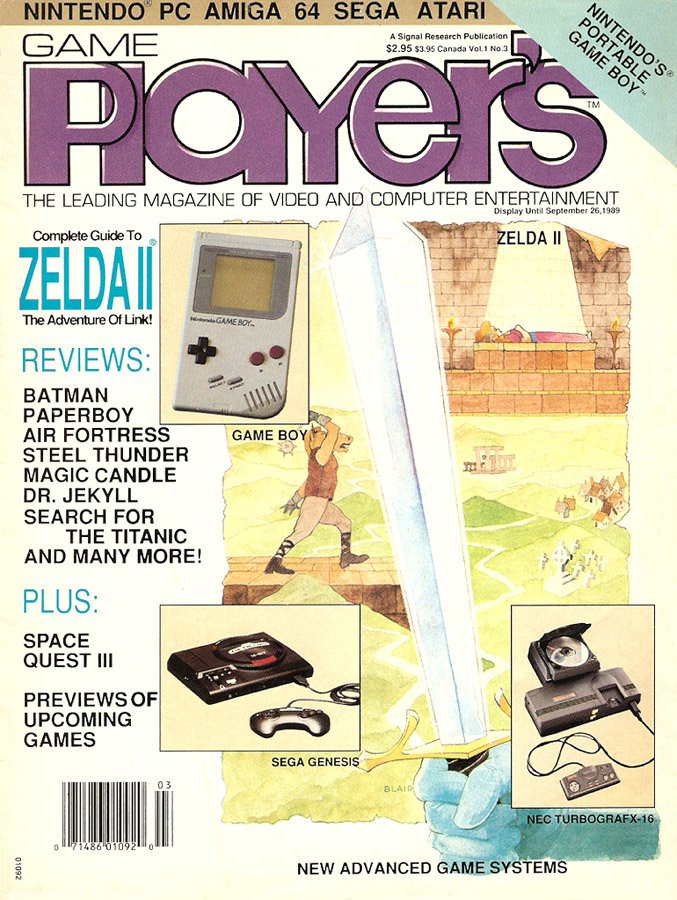 Game Player's Issue 003 (August/September 1989)