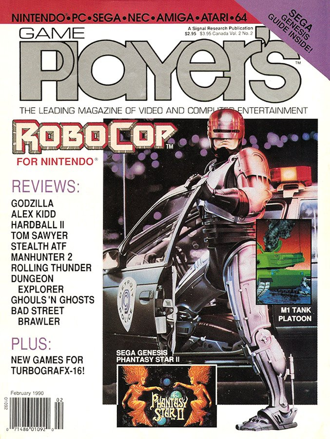 Game Player's Issue 008 February 1990 (Volume 2 Issue 2)