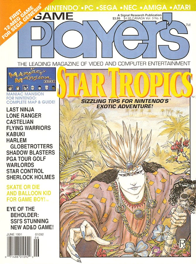 Game Player's Issue 024 June 1991 (Volume 3 Issue 6)