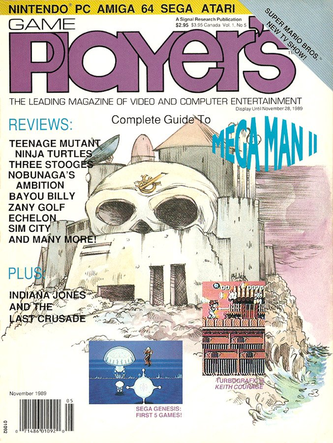 Game Player's Issue 005 November 1989 (Volume 1 Issue 5)
