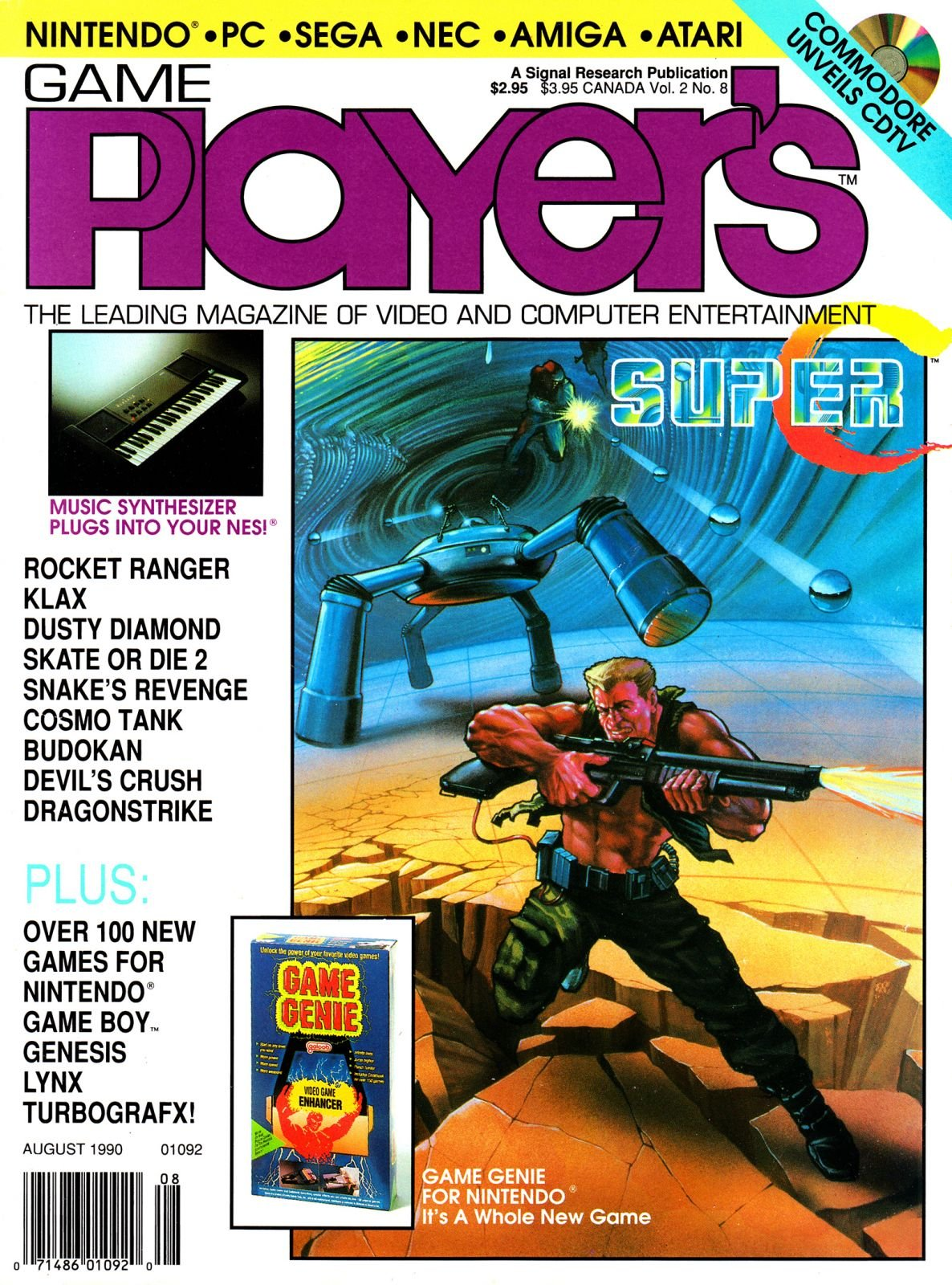 Game Player's Issue 014 August 1990