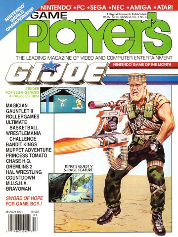 Game Player's Issue 021 March 1991 (Volume 3 Issue 3)