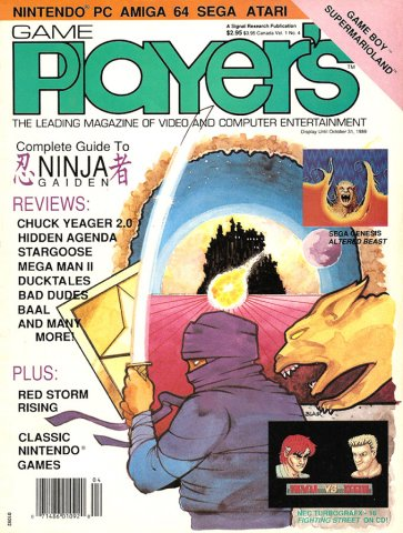Game Player's Issue 004 October 1989 (Volume 1 Issue 4)