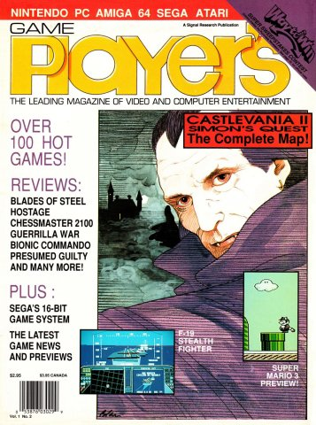 Game Player's Issue 002 June/July 1989