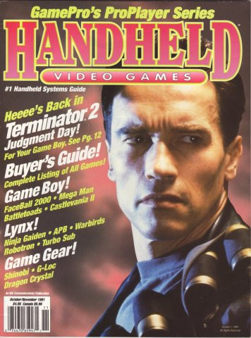 GamePro presents Handheld Video Games (October/November 1991)