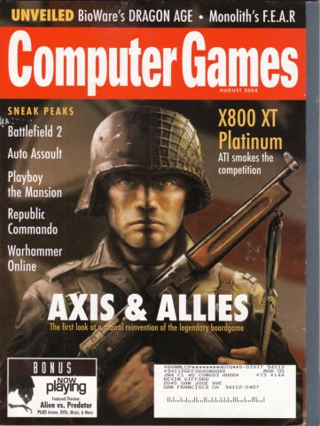Computer Games Issue 165 (August 2004)
