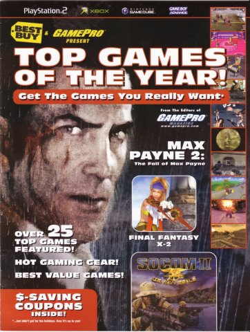 Best Buy & GamePro present Top Games of the Year (2003)