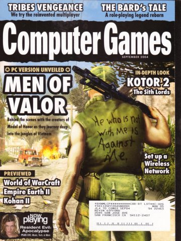 Computer Games Issue 166 (September 2004)