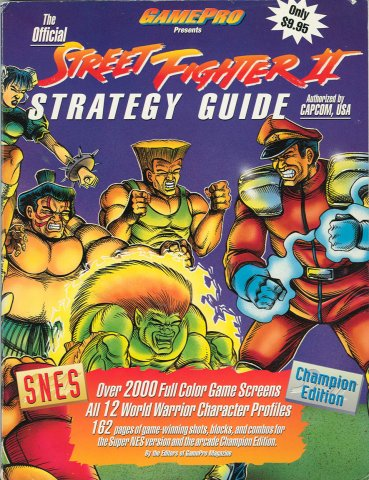 GamePro presents The Official Street Fighter II Strategy Guide