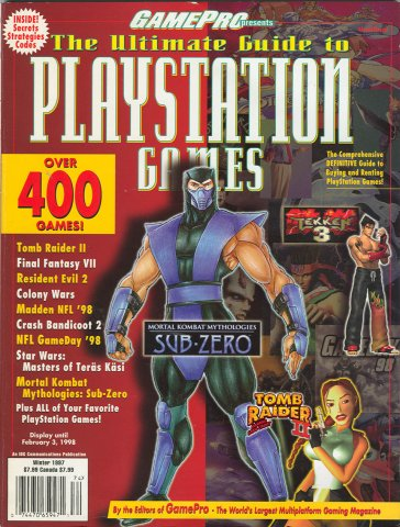 GamePro presents The Ultimate Guide to Playstation Games