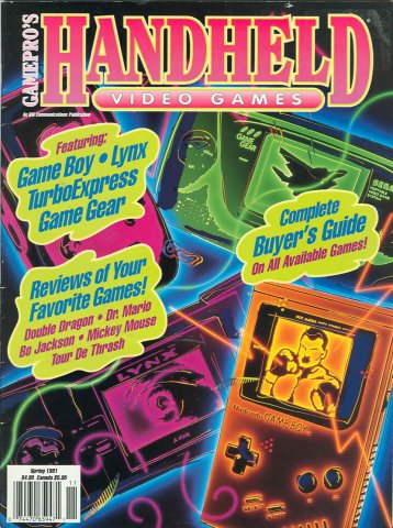 GamePro presents Handheld Video Games (Spring 1991)
